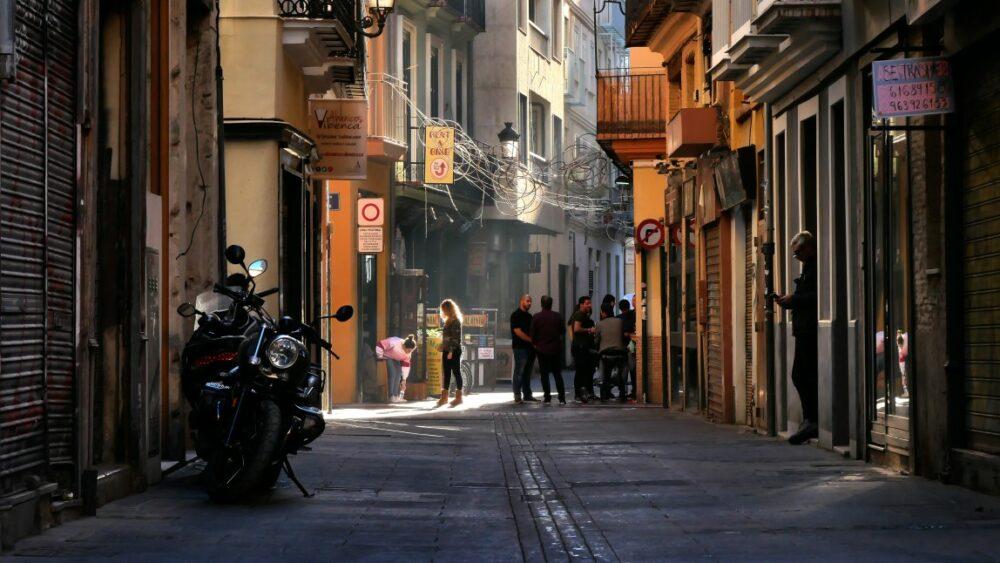 Moto en Italie